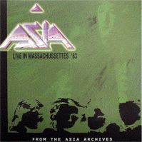 Live In Massachusetts 1983 by Asia