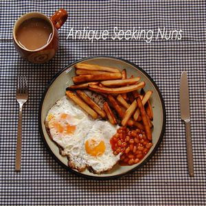 Double Egg With Chips And Beans