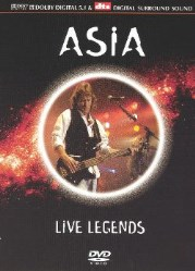 Live Legends [DVD] by Asia