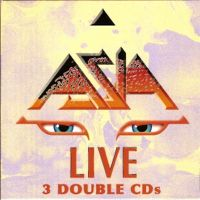 Live 3 Double CDs by Asia