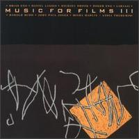 Music For Films III by Brian Eno