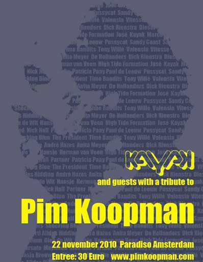 Tribute to Pim Koopman