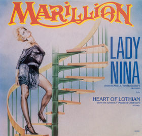 Lady Nina / Heart of Lothian by Marillion