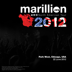 North American Tour: Park West, Chicago, USA on 22 June 2012