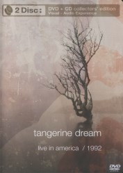 Live in America/ Ninety Two [DVD+CD] by Tangerine Dream