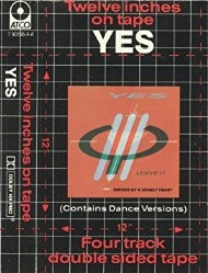 Twelve Inches On Tape by Yes