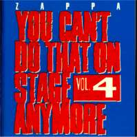 You Can't Do That On Stage Anymore Vol. 4